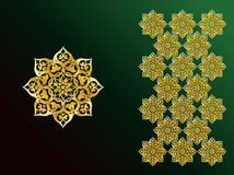 Arabic Ornaments. Simple Illustration for Arabic Ornamint Symbols and Backgrounds Stock Images