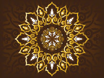 Arabic Ornaments. Simple Illustration for Arabic Ornament Symbols and Backgrounds Stock Images