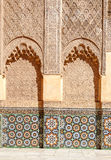 Arabic Palace Ben Youssef Stock Photo