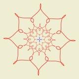 Arabic pattern. geometry pattern in vector. Stock Image