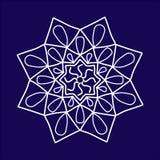 Arabic pattern. geometry pattern in vector. Royalty Free Stock Photo