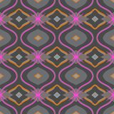 Arabic pattern in grey and pink Stock Photos