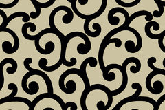 Arabic pattern.Illustration. royalty free stock photos