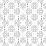 Arabic pattern seamless background. Geometric muslim ornament backdrop. Grey illustration of islamic texture. Eps 10 vector illustration