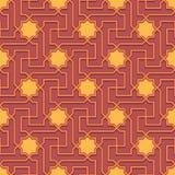Arabic pattern seamless ornament Stock Photos