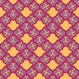 Arabic pattern seamless ornament Royalty Free Stock Photos