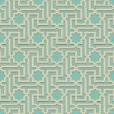 Arabic pattern seamless ornament Stock Photography