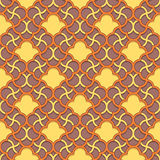 Arabic pattern seamless ornament Royalty Free Stock Photo