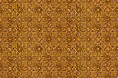 Arabic pattern seamless texture Royalty Free Stock Photos