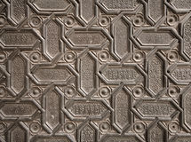 Arabic pattern texture Stock Photos