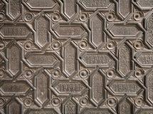 Arabic pattern texture. Close-up photo Stock Photos