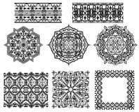 Arabic Patterns Set Royalty Free Stock Photography