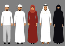 Arabic people, Stock Image