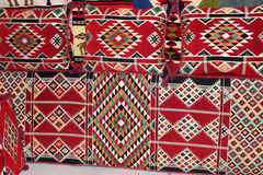 Arabic Pillows for majlis Royalty Free Stock Photography