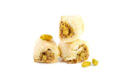 Arabic pistachios sweets Stock Photography