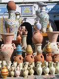 Arabic pottery Stock Photo