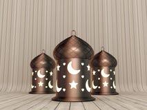 Arabic Ramadan Lantern Stock Photography