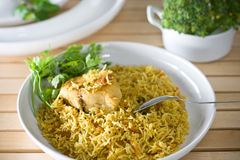 Arabic Rice Stock Photo