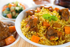 Arabic rice Royalty Free Stock Image