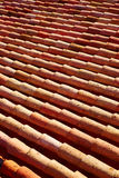Arabic roof tiles in Teruel of Spain Royalty Free Stock Image