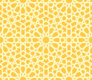 Arabic rosette seamless pattern Stock Photos