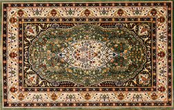 Free Arabic Rug With Floral Pattern Royalty Free Stock Images - 23277179