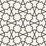 Arabic seamless ornament. Abstract background. Royalty Free Stock Photos