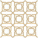 Arabic seamless ornament. Background with seamless pattern in Arabian style Royalty Free Stock Photos