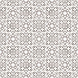 Arabic seamless ornament Royalty Free Stock Photography