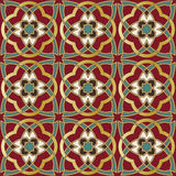 Arabic seamless pattern Stock Photos