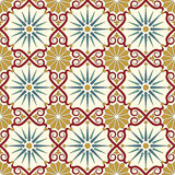 Arabic seamless pattern Royalty Free Stock Photography