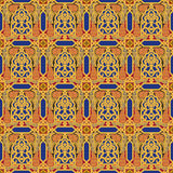 Arabic seamless pattern Royalty Free Stock Photo