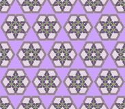 Arabic seamless pattern Stock Images