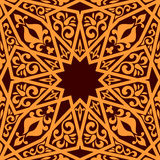 Arabic seamless pattern Royalty Free Stock Images