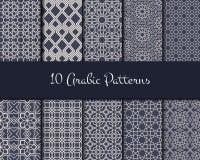 Arabic Seamless Pattern Royalty Free Stock Photo