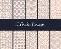 Arabic Seamless Pattern Stock Photography
