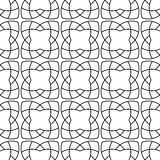 Arabic seamless patterns. Black and white ornaments for textile and fabric Stock Photography