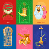 Arabic set Royalty Free Stock Image