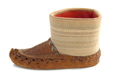 Arabic shoe Royalty Free Stock Photos