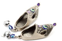 Arabic slippers Royalty Free Stock Image