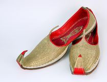 Arabic slippers royalty free stock images