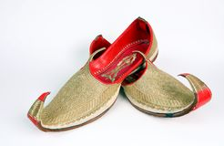 Arabic slippers Stock Photos