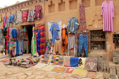 Arabic souvenir stuff sold on the street Royalty Free Stock Images
