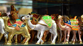 Arabic Souvenirs. For sale in Dubai Royalty Free Stock Images