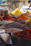 Arabic spices at traditional market. Morocco. Africa. Stock Image