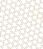 Arabic stars graphic design pattern seeamless. Background Vector Illustration