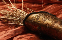 Arabic Still-Life. On a fabric background royalty free stock image