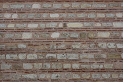 Arabic stone wall. Old arabic stone wall with a brick texture background Stock Photography