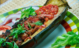 Arabic  stuffed Eggplant Royalty Free Stock Image