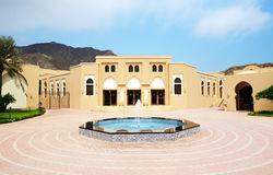 The arabic style building of luxury hotel Stock Images